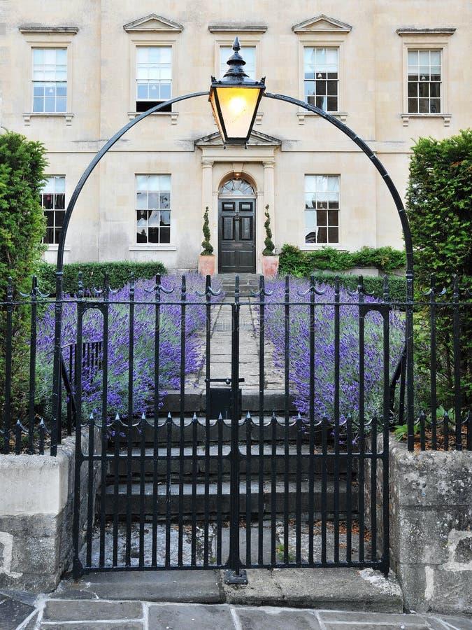 伦敦城内住宅 免版税库存照片