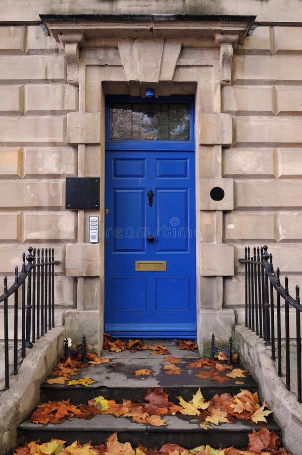 伦敦城内住宅 图库摄影