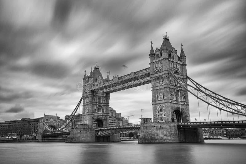 伦敦塔桥梁 库存图片