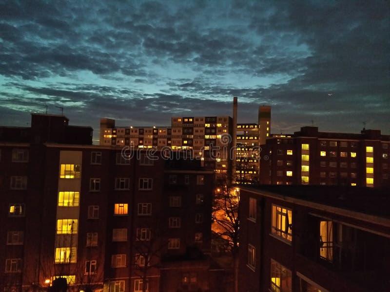 伦敦夜 图库摄影