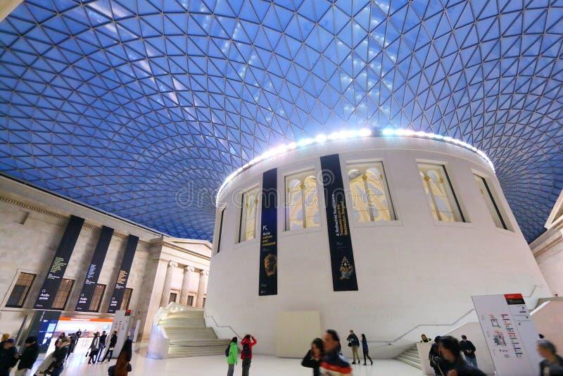 伦敦大英博物馆 库存照片