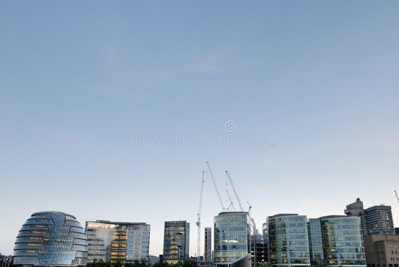 伦敦市政厅- 1 免版税库存图片