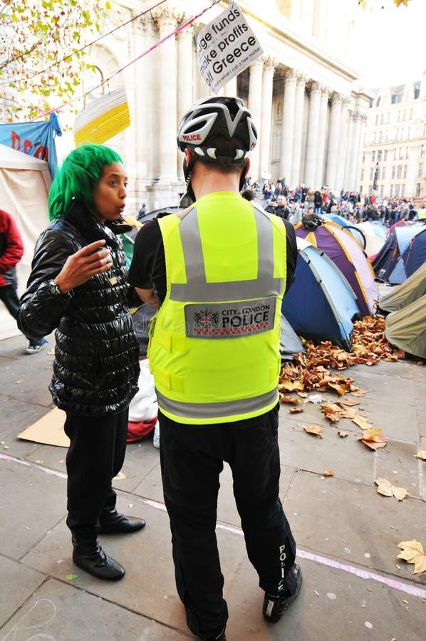 伦敦拒付 免版税图库摄影