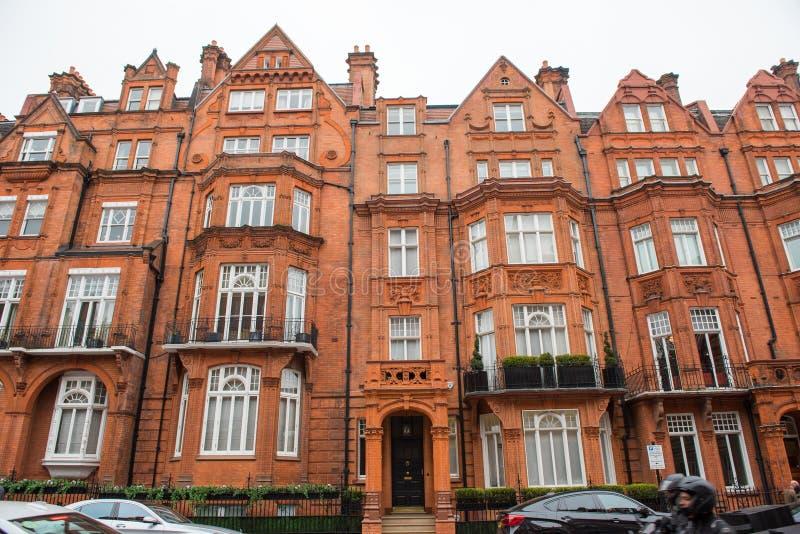 伦敦拥挤的街 免版税库存图片