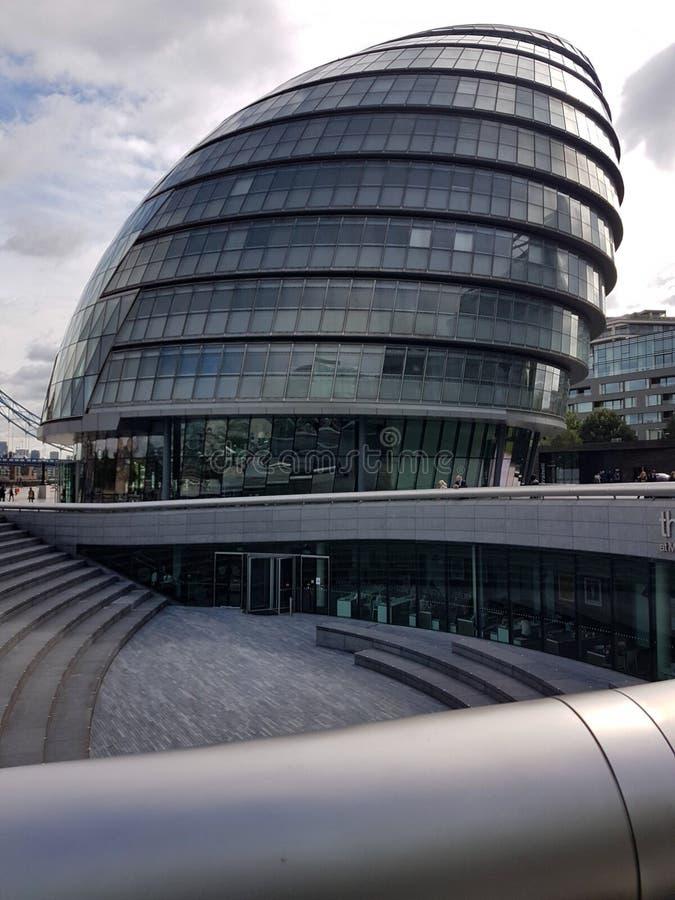 伦敦政府大厦  免版税库存图片