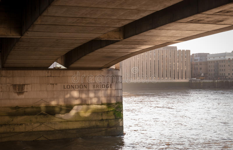 伦敦桥 免版税图库摄影