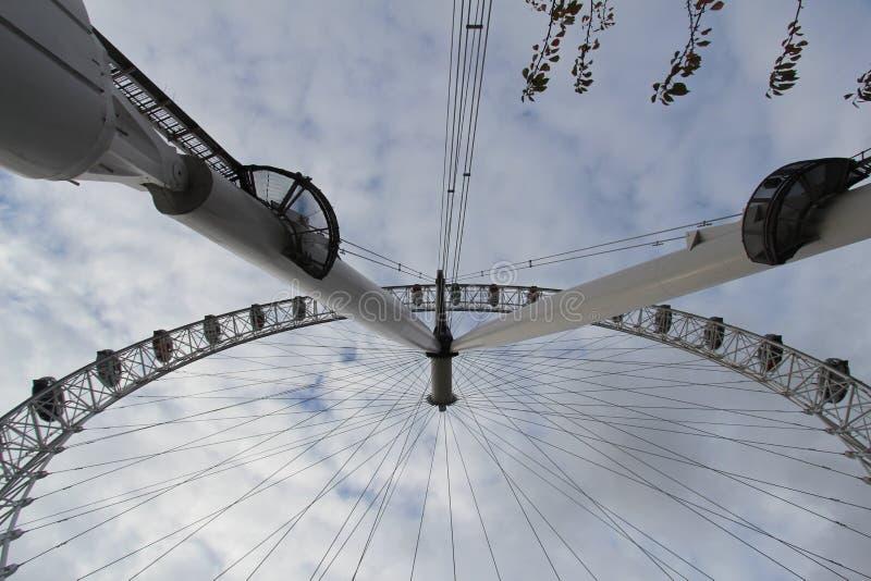 伦敦注视2015好的吸引力 免版税库存图片