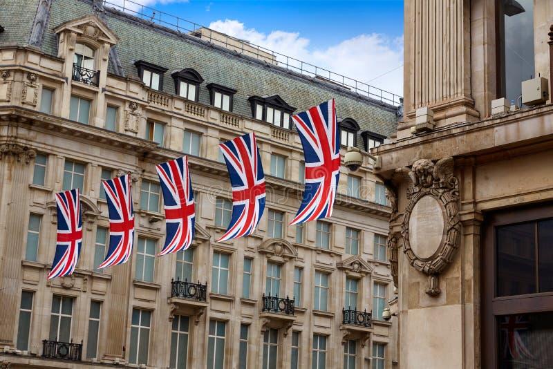 伦敦牛津街W1威斯敏斯特 免版税库存图片