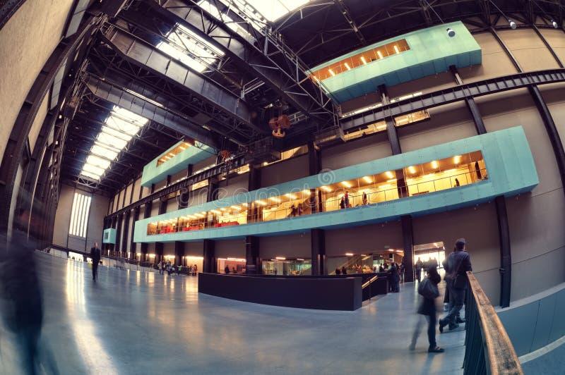 伦敦现代博物馆tate 库存照片