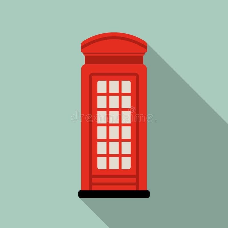 伦敦电话亭 也corel凹道例证向量 向量例证