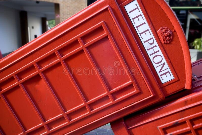 伦敦电话 库存图片