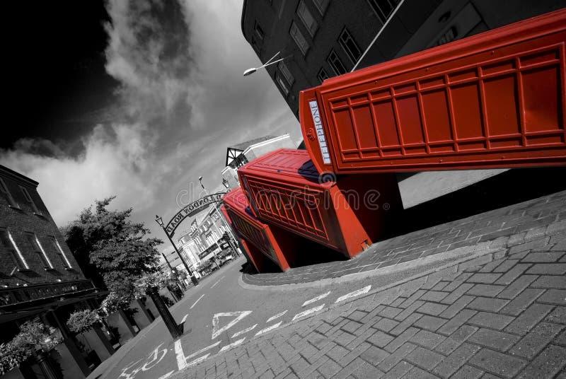 伦敦电话 图库摄影