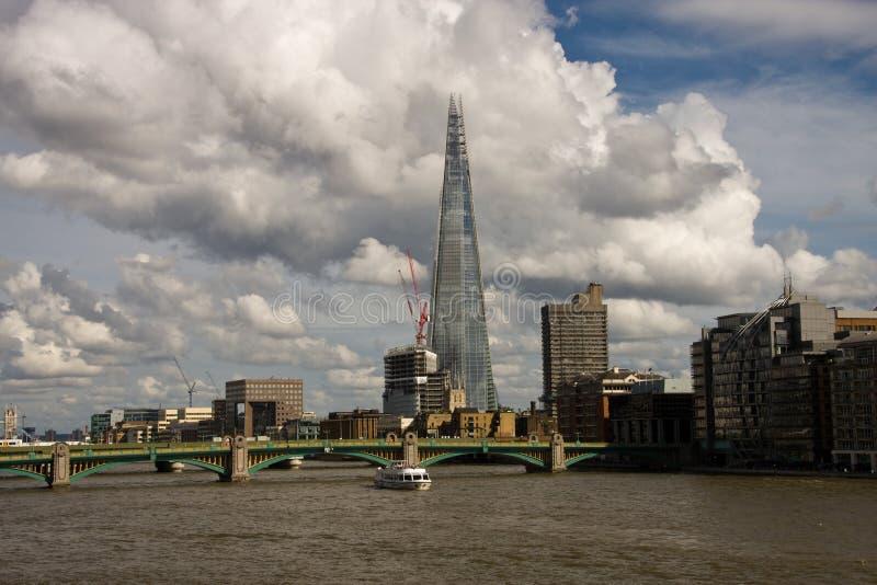 伦敦碎片 库存图片