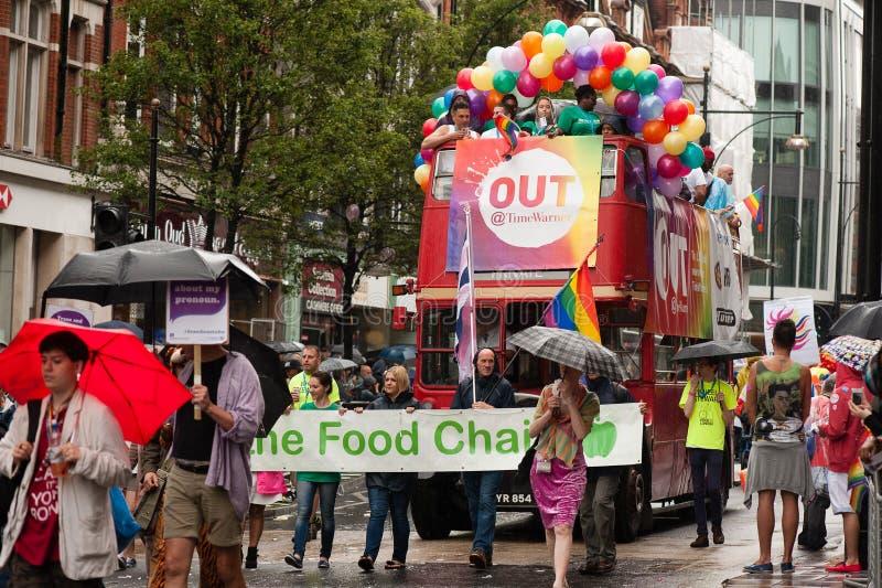 伦敦自豪感2014年 免版税库存照片