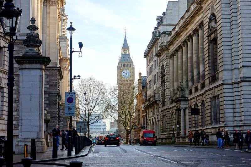 伦敦街道 免版税库存图片