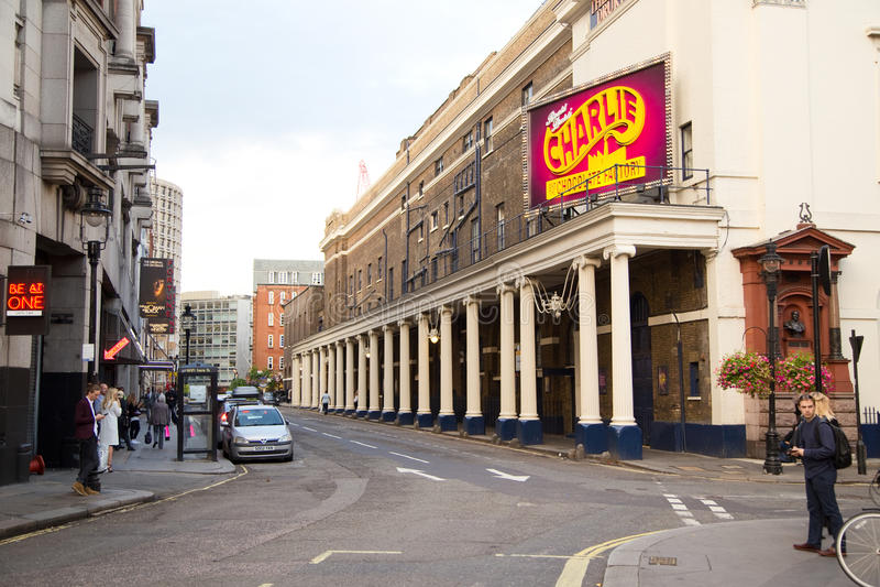 伦敦西区剧院 库存图片
