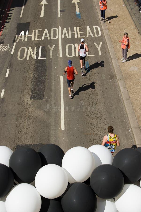 伦敦马拉松 免版税图库摄影