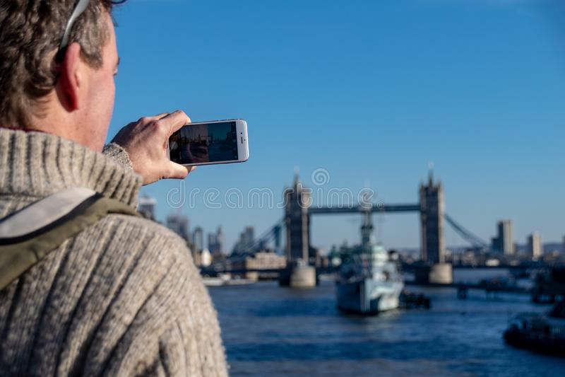 伦敦,英国地标  图库摄影