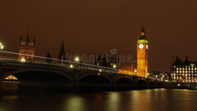 伦敦(夜) 免版税图库摄影