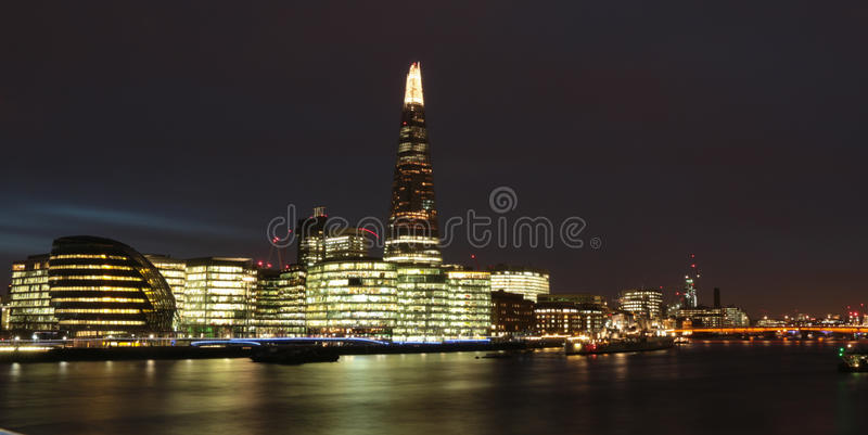 伦敦(夜) 库存照片