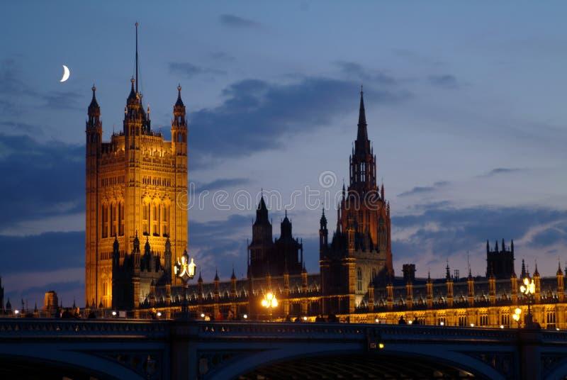 伦敦-威斯敏斯特 库存照片