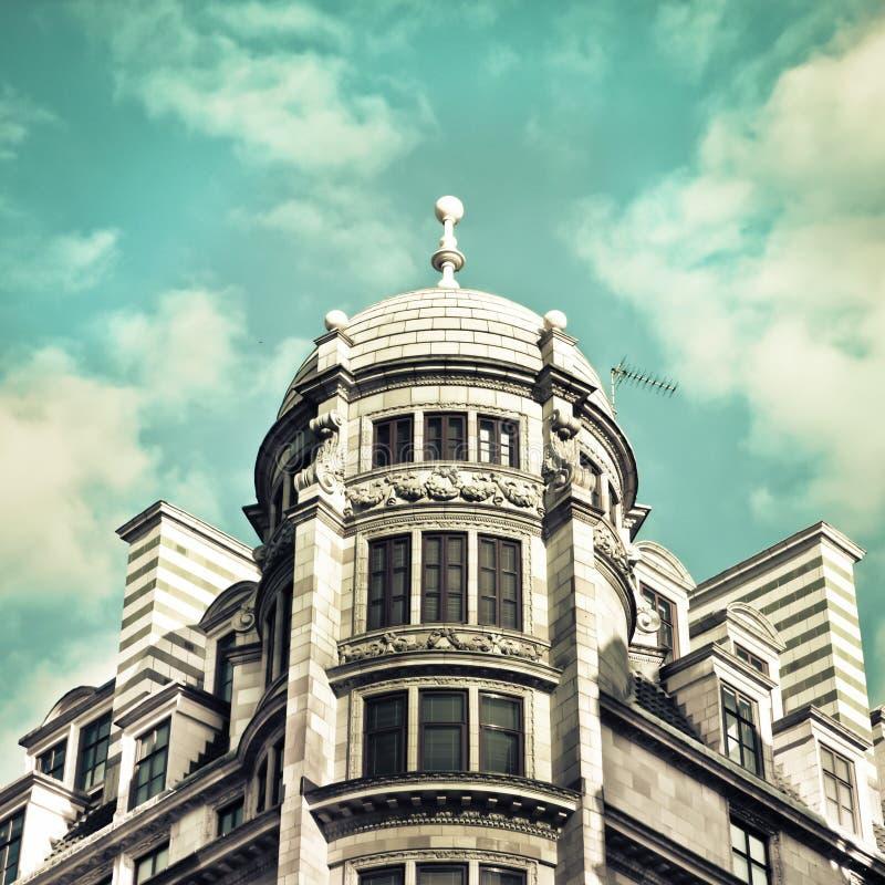 伦敦建筑学 免版税库存图片