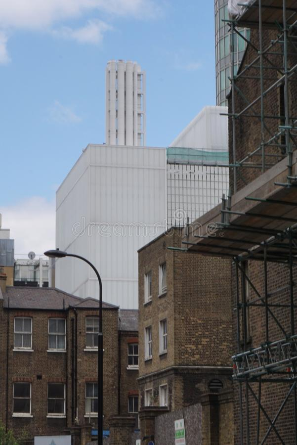 伦敦建筑学 免版税图库摄影