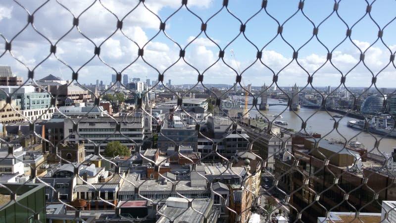 伦敦-纪念碑 库存照片