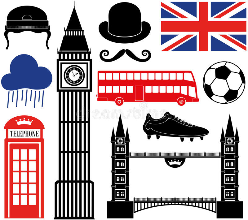 伦敦 向量例证