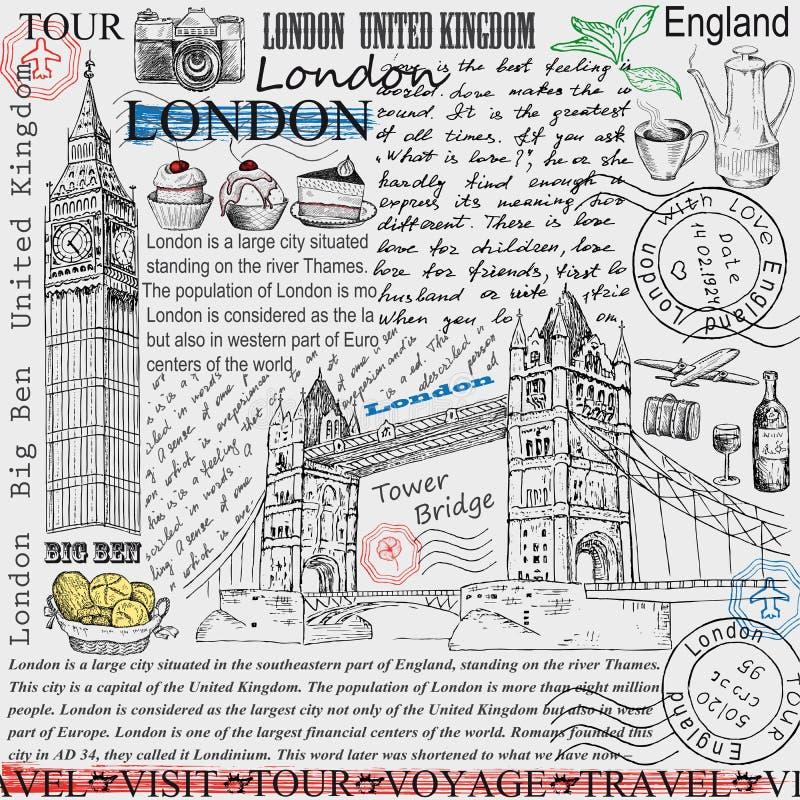 伦敦 皇族释放例证