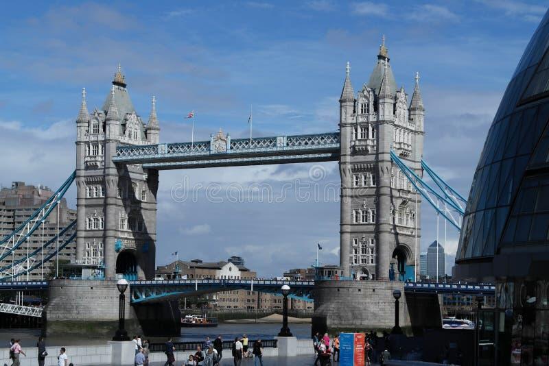 伦敦` s桥梁 库存图片