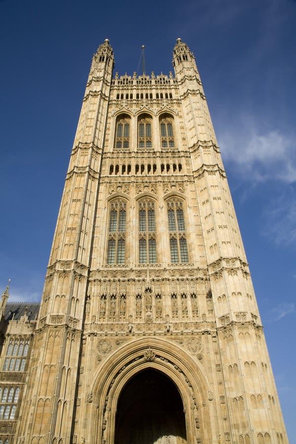 伦敦parliamnet塔 免版税库存照片