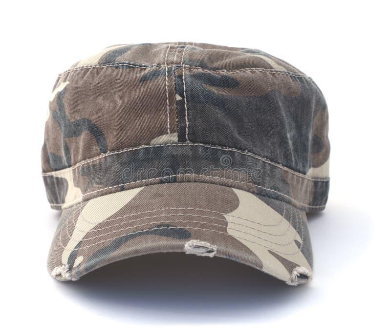 伪装军队帽子 库存图片