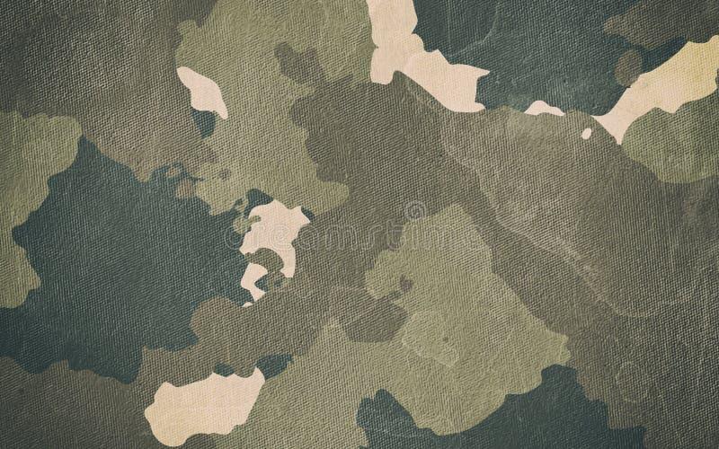 伪装样式布料纹理 设计的背景和纹理 皇族释放例证