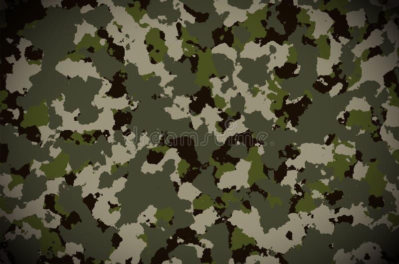 伪装样式背景 军事伪装样式 免版税库存图片