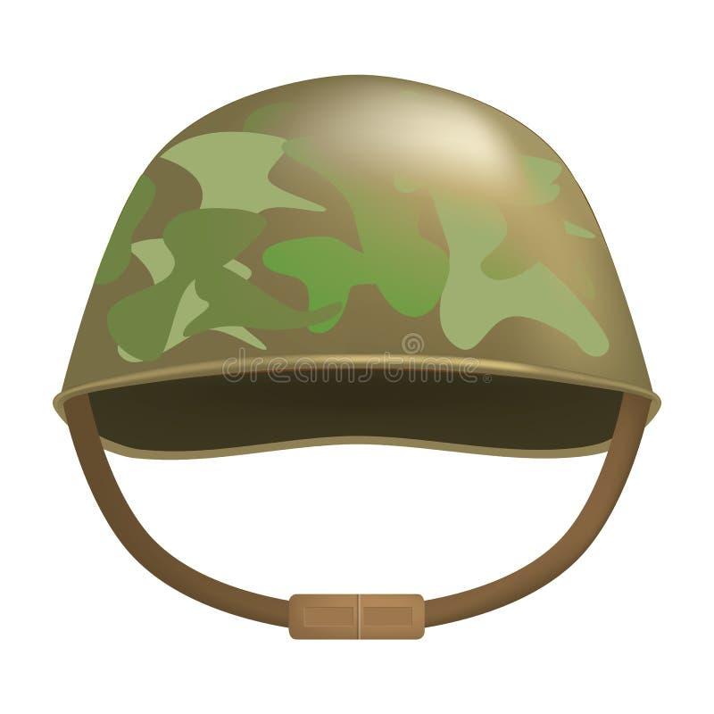 伪装盔甲大模型,现实样式 向量例证