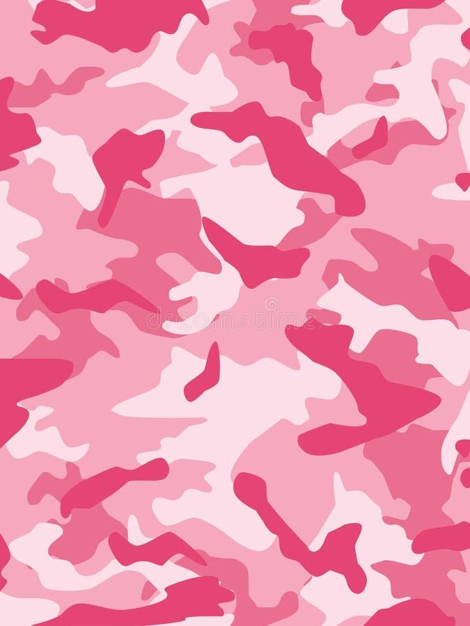 伪装粉红色 库存例证