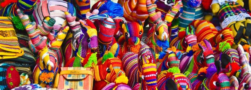 伯利兹手织的小装饰品 免版税库存图片