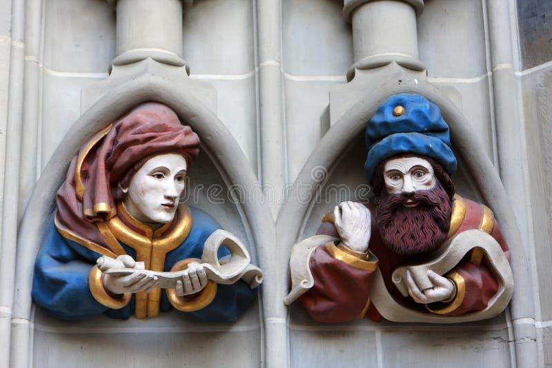 伯尔尼大教堂 库存图片