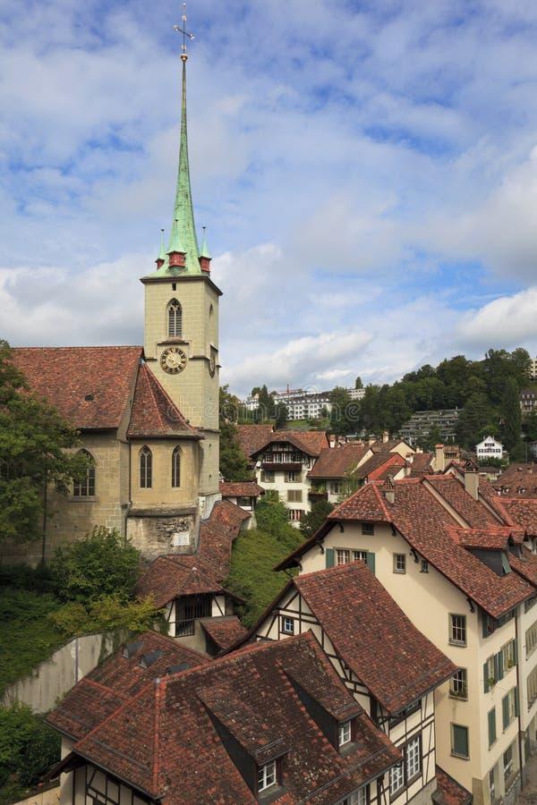 伯尔尼老瑞士城镇 免版税库存照片