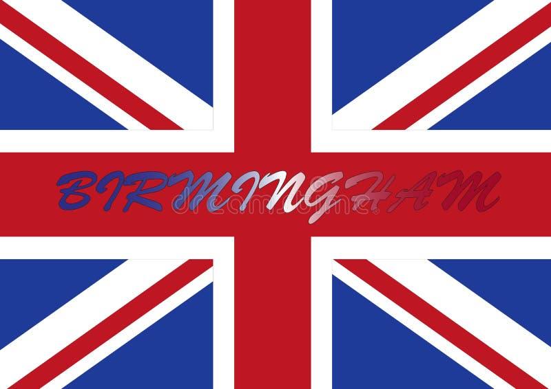 伯明翰标志英国 皇族释放例证