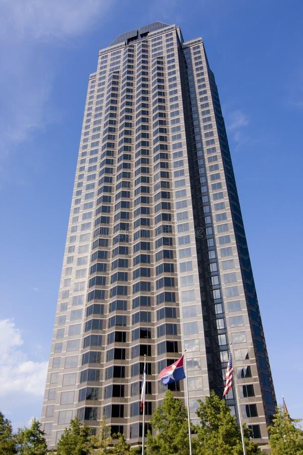 伸手可及的距离摩天大楼 库存图片