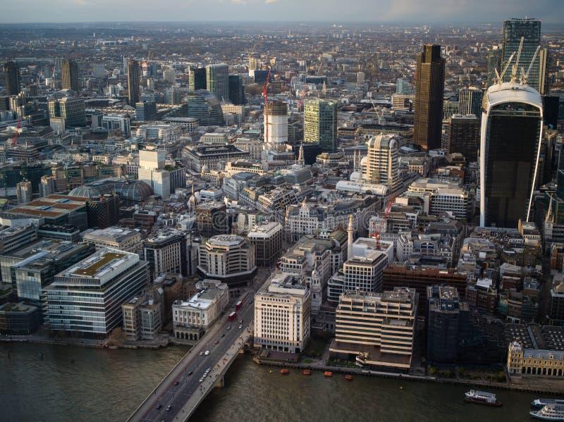 位于东部中心位置的伦敦 免版税图库摄影
