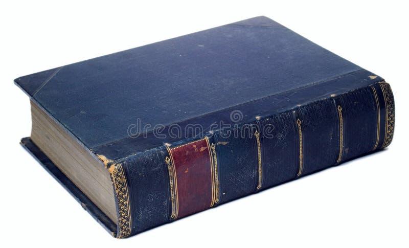 位于的书 免版税库存照片