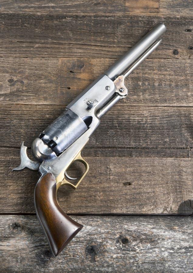 ! 847位牛仔手枪 免版税库存图片