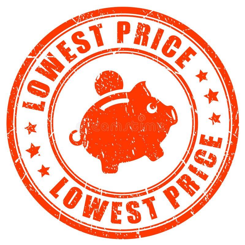 低价传染媒介邮票 向量例证