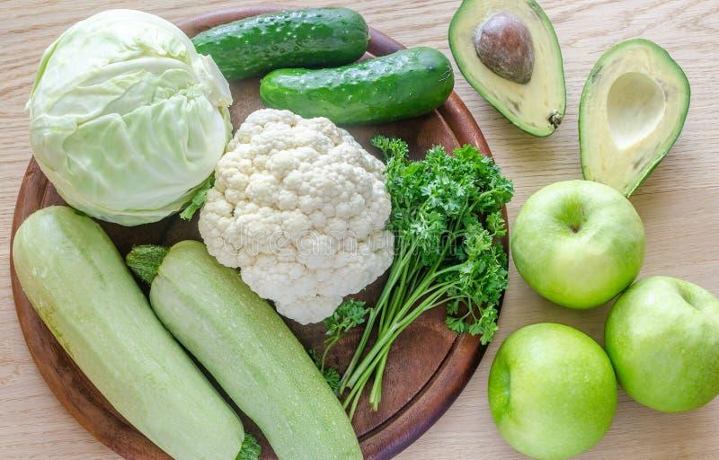 低变应原的水果和蔬菜 免版税库存照片