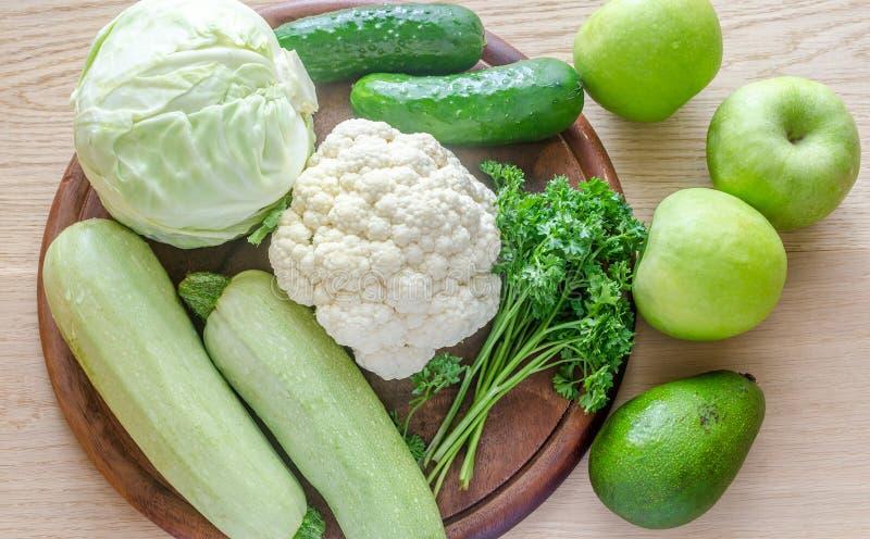 低变应原的水果和蔬菜 免版税库存图片