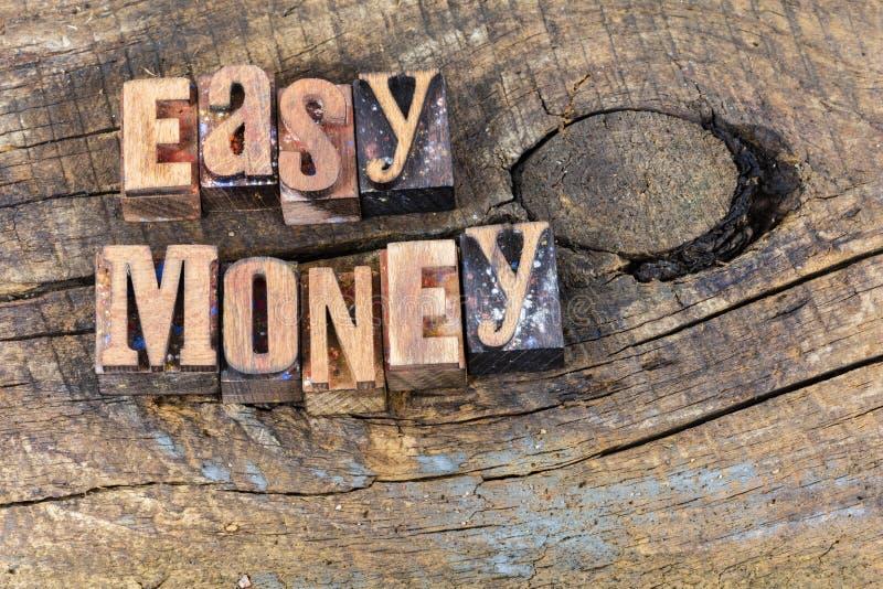 低息贷款财政收入活版 免版税库存图片