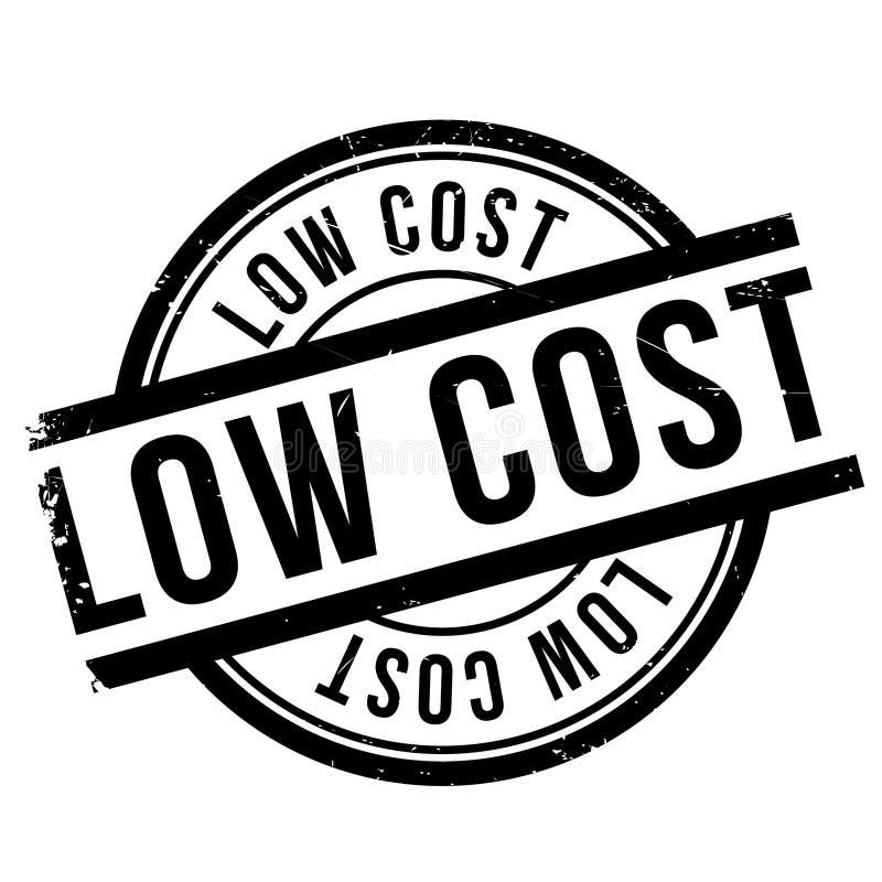 低成本邮票 向量例证